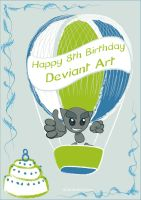 Happy 8th BD DA Swatch Contest by Docali