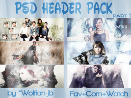 Psd Header Pack Part 1 by YarenJustin