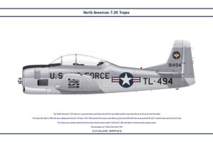T-28 USAF 1 by WS-Clave