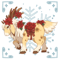 Advent Calendar 2016 Day 24: Poinsettia Glory by Herboreal