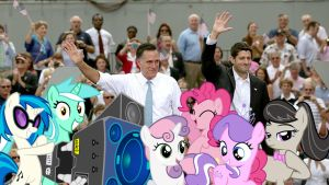Hooray For Romney And Ryan by RicRobinCagnaan