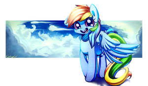 Rainbow Dash by CarligerCarl