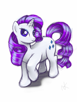 Rarity iPad Sketch by cow41087