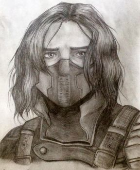The Winter Soldier by TheBeautyInsideUs