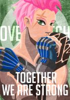 Together We Are Strong by clueless-nu