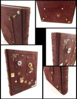 Steampunk Sketchbook by MilleCuirs