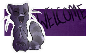 Blue Welcome by DemonicBanshee