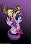Cute Twilight Sparkle Princess by martybpix
