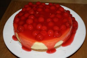 Cherry Cheesecake by KarmicCircle