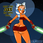 Ass-oka Wishes You a Happy Star Wars Day! by BluMoonToons