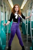 Subway train, latex 02 by GuldorPhotography