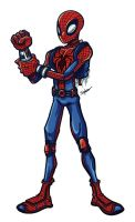 spiderman by petipoa