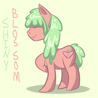 Shiny Blossom by cleverlittleunicorn