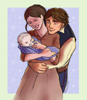 Young Parents by Yohiri