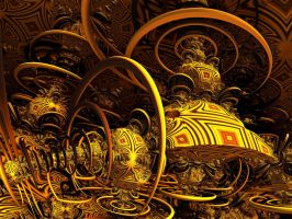 Mayan Orgone Energy Accumulator by PhotoComix2