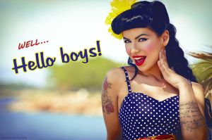 Hello boys!!! by mariannaphotography
