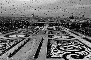 rainy Vienna by crh