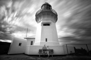 Lighthouse Couple by CainPascoe