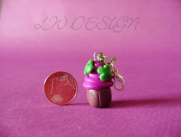 Fimo - Cupcake three by LadyxWinter