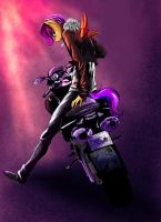 Biker Scootaloo by DLowell