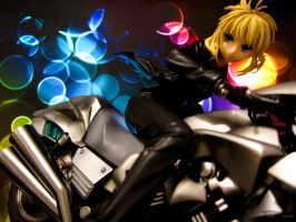 Saber and Saber Motored Cuirassier by eyebowl
