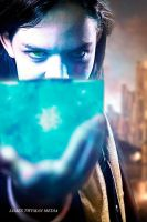 Loki has the Tesseract! by SephirothMichaelis