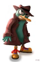 Perry the Platypus by duplex2