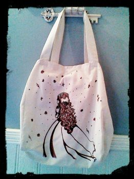 simple shopping bag by xroxybellx
