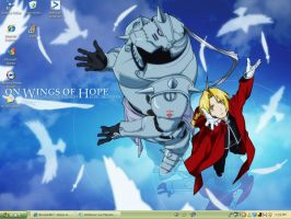 another FMA desktop by Dark-bliss