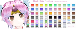 'Sleek' Hair Texture - DL UPT by MMDFakewings18