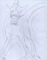 Jawed Monster by ZacharyWolf