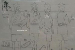 Road to Ninja Naruto the Movie Drawings by Kira-XD