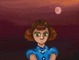 Jean in the serious moonlight by cellytron