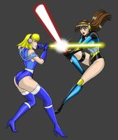Maidens Duel by JosephB222 by Dangerman-1973