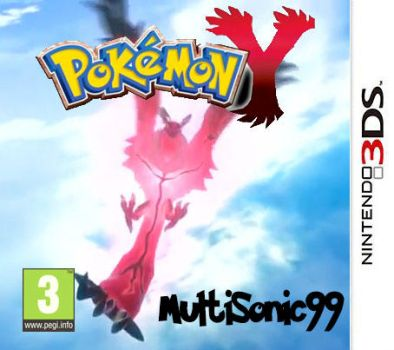 Cover Pokemon Y by MultiSonic99