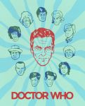 PosterVine The New Doctor Who Peter Capaldi Poster by PosterVine