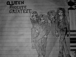 queen :D by Sillyhatlovingbro