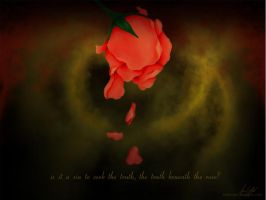 Truth Beneath the Rose wp by LadyD666