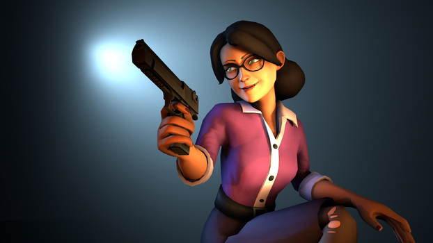 Miss Pauling by thebronestbrone