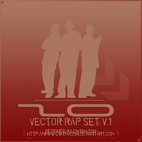 Vector Rap Set by CWTMason