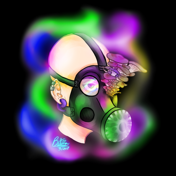 Toxic Colors by BetinaFoxyDrawings