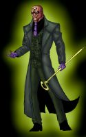 The Riddler in colour Batman Re-Image Wave 3 by dushans