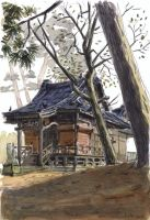 Niigata 07 - The Shrine by olivier2046