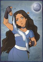 Katara - on Avatar the legend of Aang. by Erikafdn