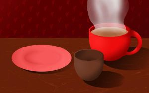 Cup of Coffee by omtay