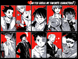favorite character meme #1 by magonpoll24