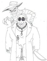 Freddy and Jason by SpiketheKlown