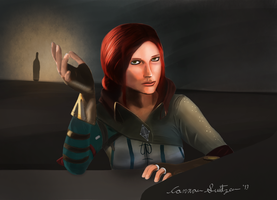 The Witcher - Triss Merigold by Switzer2007