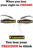 Censorship Poster by cosplay-kitty