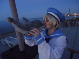 sealand loves dolphins by orrihime